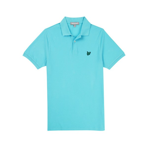 Lyle and scott mens embroidered golf polo shirt golfonline