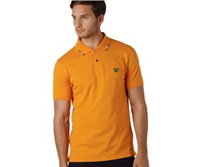 Lyle and Scott Mens Club Collar Stripe Polo