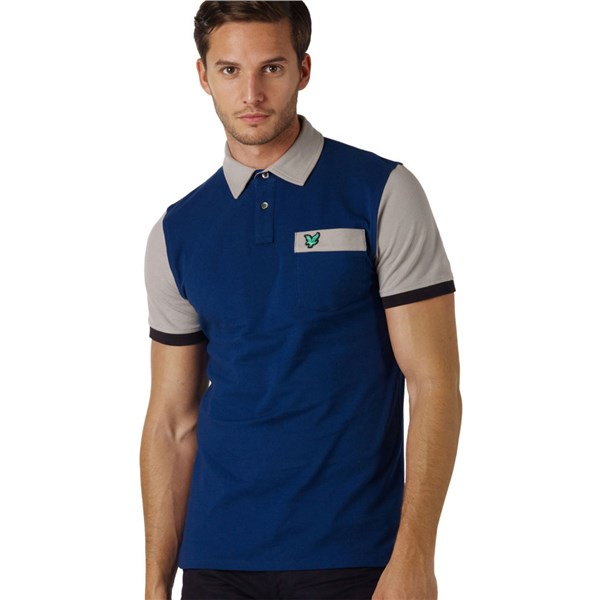 Lyle and Scott Mens Club Colour Block Polo 2012