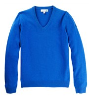 Lyle and Scott Mens Classic Lambswool V-Neck Jumper
