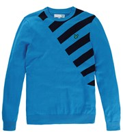 Lyle and Scott Mens Graphic Intarsia Jumper