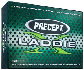 Bridgestone Precept X Laddie White Golf Balls  12 Balls