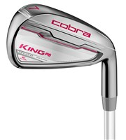 Cobra Ladies King F6 Irons  Graphite Shaft