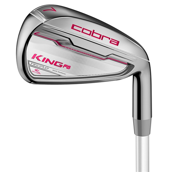Cobra Ladies King F6 Irons (Graphite Shaft)