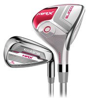 Cobra Ladies Max Offset Hybrid Combo Iron Set  Graphite Shaft