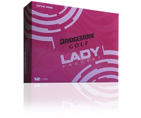 Bridgestone Ladies Lady Precept Pink Golf Balls 2016  12 Balls