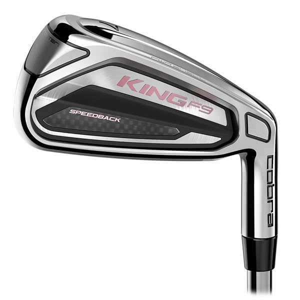 Cobra Ladies King F9 SpeedBack Irons (Graphite Shaft)