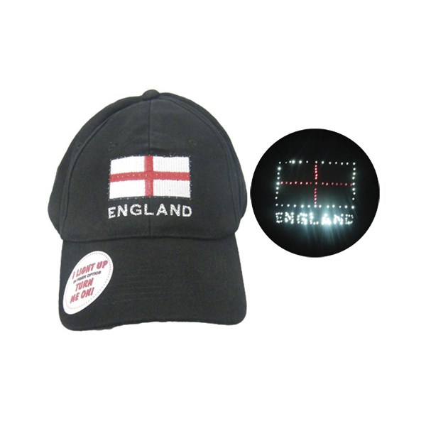 England Patriotic Flashing Golf Cap