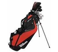 Wilson Mens Linear XD Golf Package Set  Steel/Graphite