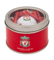 Liverpool Golf Ball And Tee Set