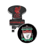 Liverpool Golf Hat Clip With Ball Marker
