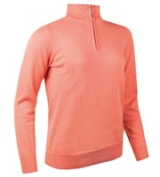 Glenmuir Ladies Harper Cotton Zip Neck Sweater