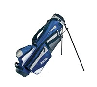 Longridge 6 Inch Weekend Stand Bag (Navy/Silver)