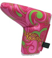 Winning Edge Loudmouth Cotton Candy Putter HeadCover