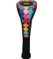 Winning Edge Loudmouth Disco Balls Fairway Headcover