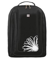 Flower Embroidered Golf Shoe Bag