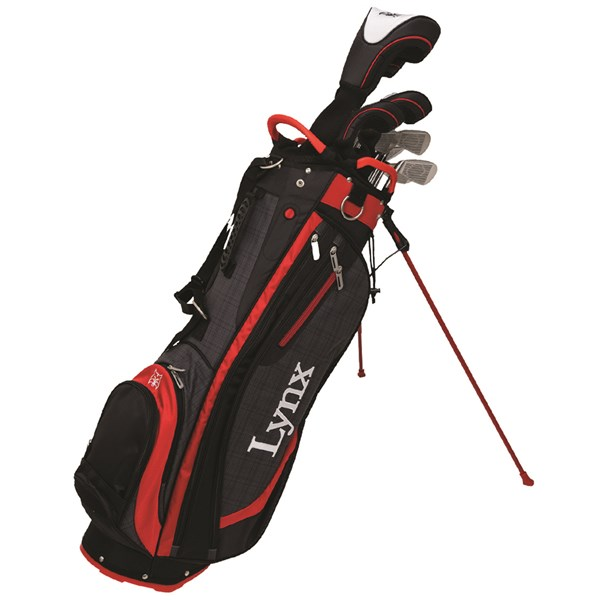 Lynx Mens Ready To Play Golf Package Set (Steel/Graphite Shaft)