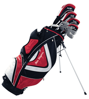 Ben Sayers M15 Red Package Set  Steel/Graphite