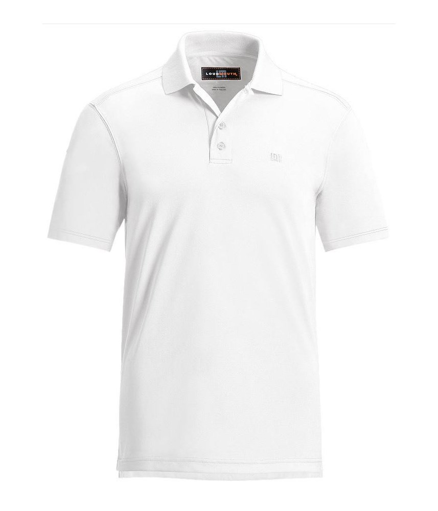 Loudmouth Mens Essential Golf Polo Shirt Golfonline