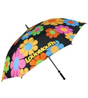 LOUDMOUTH 64 inch Double Canopy Magic Bus Umbrella