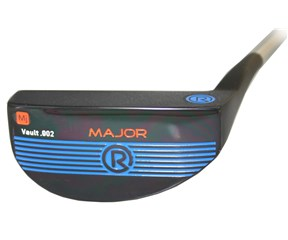 Rife Vault 002 Series Major Satin Black Putter with SuperStroke