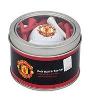 Manchester United Golf Ball And Tee Set