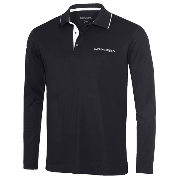 Galvin Green Mens Marc Ventil8 Plus Long Sleeve Golf Shirt