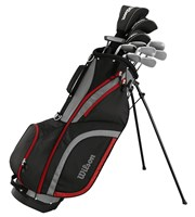 Wilson Mens Matrix Golf Package Set  Steel/Graphite
