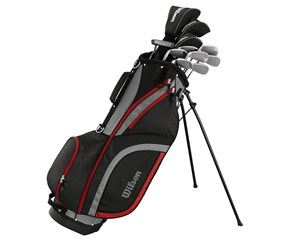 Wilson Mens Matrix Golf Package Set 1 Inch Longer 2016  Steel/Graphite