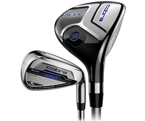 Cobra Max Hybrid Combo Iron Set  Steel/Graphite