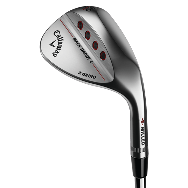 0631da0a23c52 Callaway Mack Daddy 4 Milled Raw Wedge - Golfonline