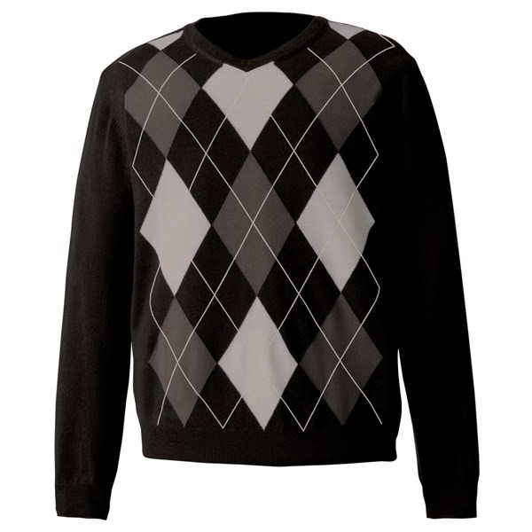 FootJoy Mens Fine Merino Wool Argyle Sweater 2014