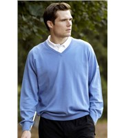 Proquip Golf Mens Merino V-Neck Sweater