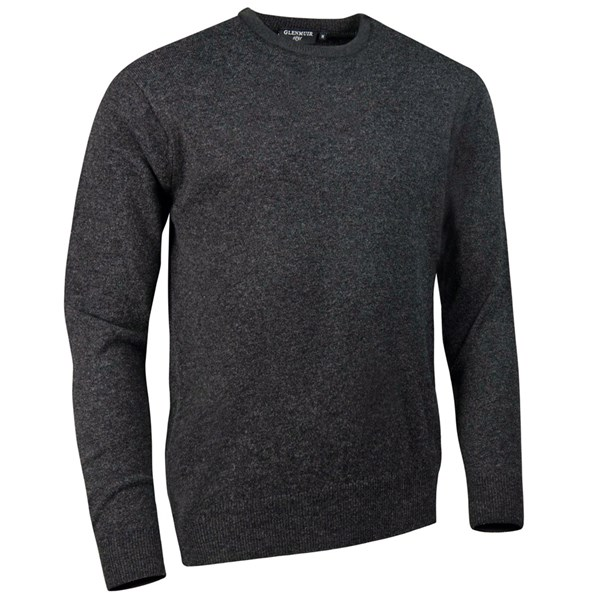 Glenmuir Mens Morar Crew Neck Lambswool Sweater