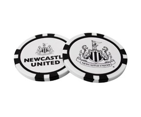 Newcastle Poker Chip Ball Marker Set