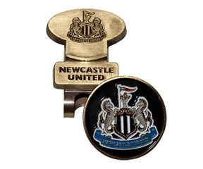 Newcastle Golf Hat Clip With Ball Marker