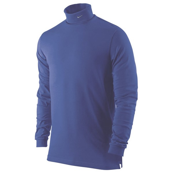 0ed5b725193a Nike Mens Dri Fit Jersey Turtle Neck Shirt. Double tap to zoom. 1 ...