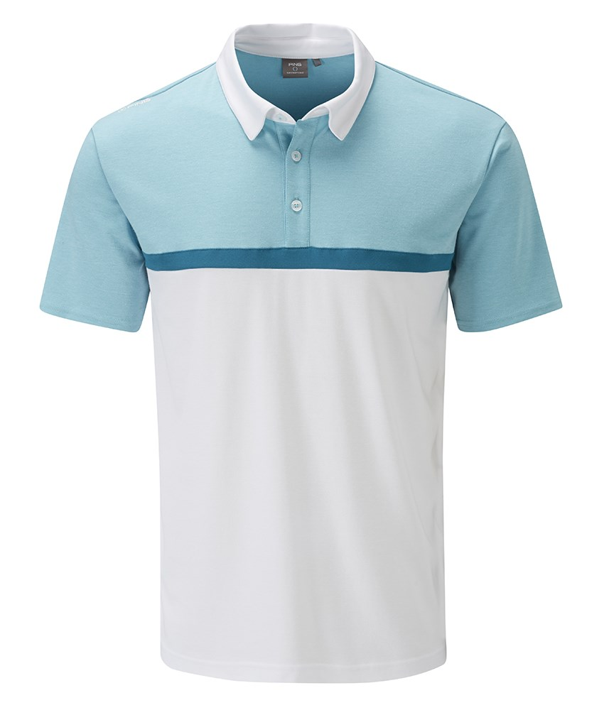 Ping collection mens nile polo shirt golfonline for Personalised golf shirts uk