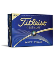 Titleist NXT Tour White Golf Balls 2016  12 Balls