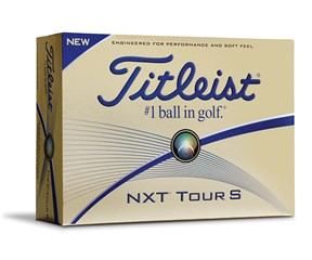 Titleist NXT Tour S White Golf Balls 2016  12 Balls