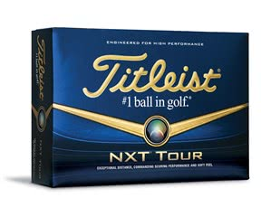Titleist NXT Tour White Golf Balls  12 Balls