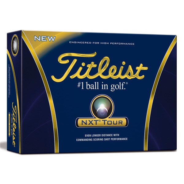 Titleist NXT Tour Golf Balls (12 Balls)