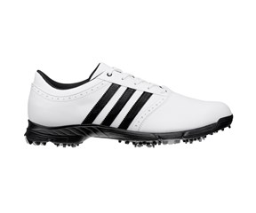 Adidas Mens Golflite 5 WD Golf Shoes 15  White/ Black