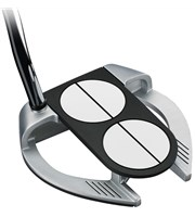 Odyssey Works Versa 2 Ball Fang Lined Putter