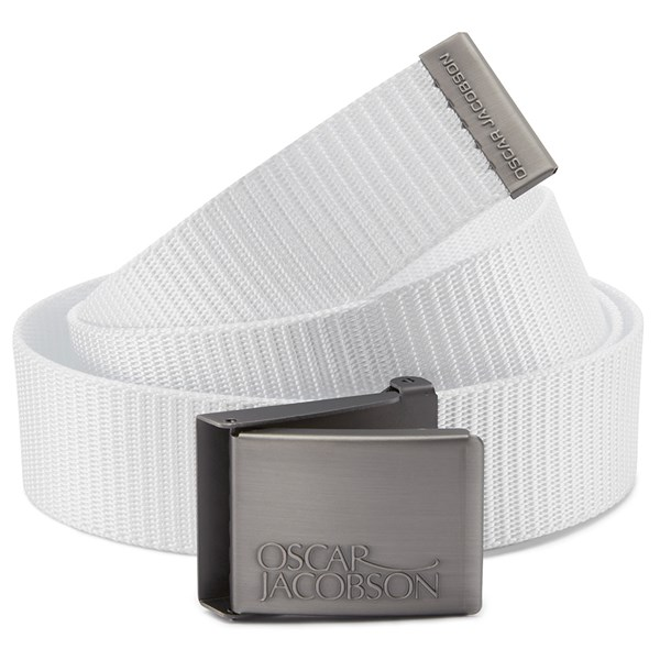Oscar Jacobson Mens Webbing Golf Belt