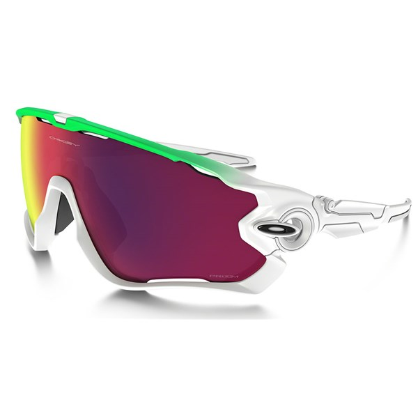 Oakley Jawbreaker Prizm Road Green Fade Edition Sunglasses