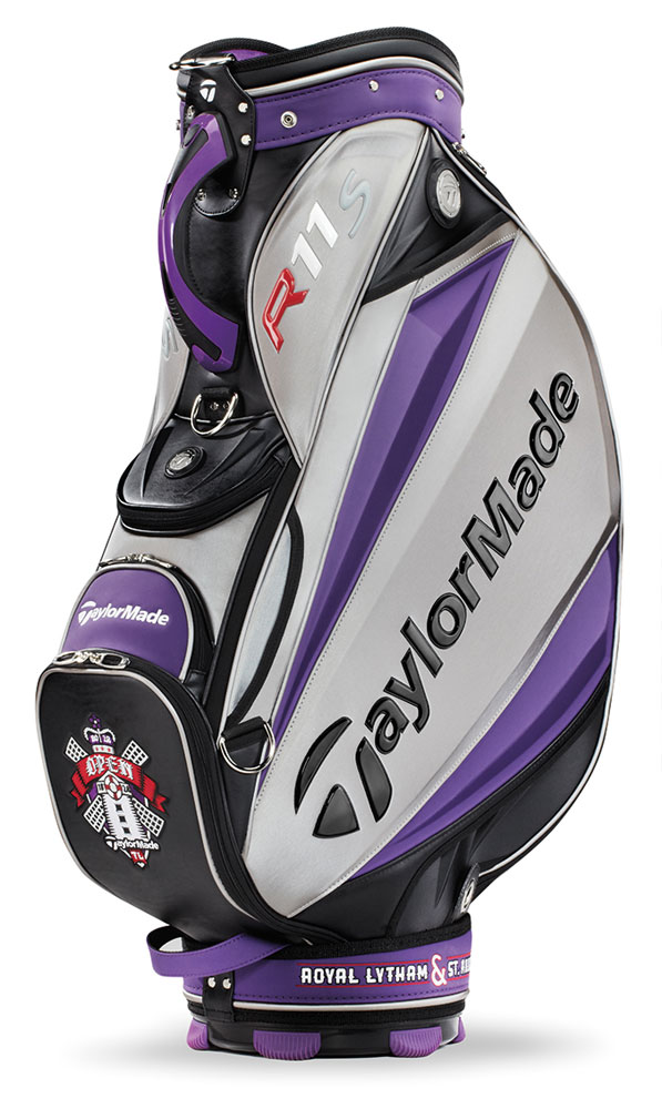 taylormade british open championship limited staff bag 2012
