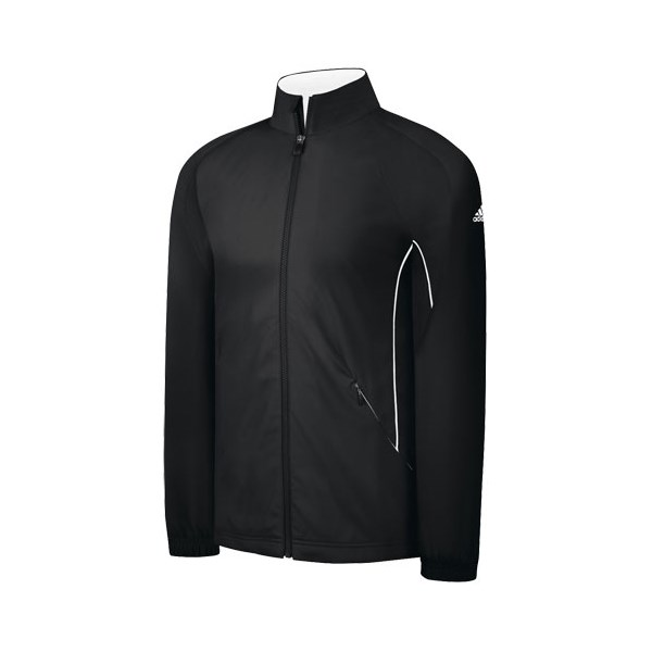 Adidas Mens ClimaProof Wind Long Sleeve Stretch Jacket