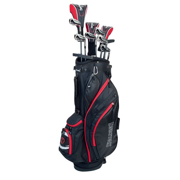 Spalding Tour Red Complete Package Set (Steel/Graphite)
