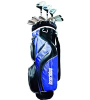 Vector Mens 12 Piece Golf Package Set  Steel/Graphite